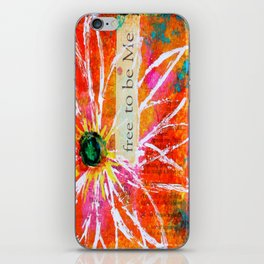 Free to Be ME iPhone Skin