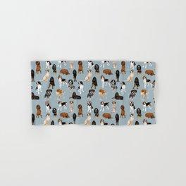 Coonhounds on Blue Hand & Bath Towel