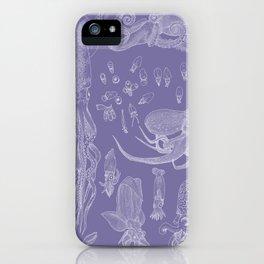 Cephalopods (Purple) iPhone Case