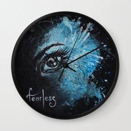 """Fearless"" Wall Clock"