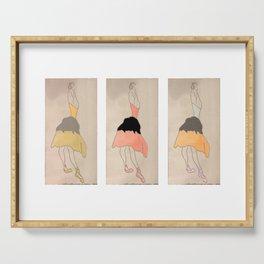 3 Ballerinas Serving Tray