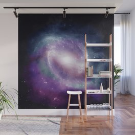 Space Clouds Wall Mural