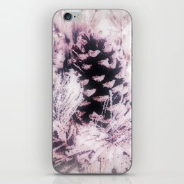 White Pine, Christmas Snowfall iPhone Skin