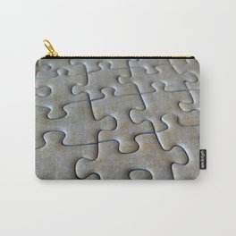 Puzzle Pieces in Its Place Carry-All Pouch