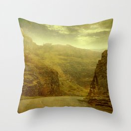 Cheddar Gorge. Throw Pillow