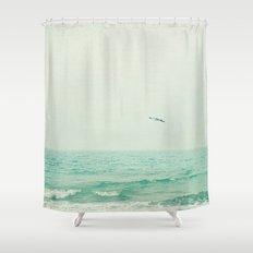 Lone Bird Shower Curtain