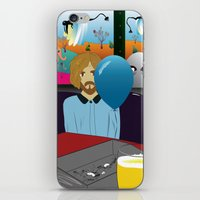 dylan iPhone & iPod Skins featuring Dylan by LylaLovitt