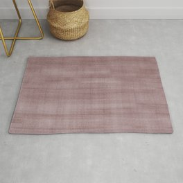 Pantone Red Pear Dry Brush Strokes Texture Pattern Rug