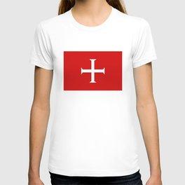 hospitaller knights cross T-shirt