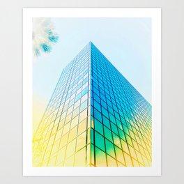 Downtown Vibe Art Print