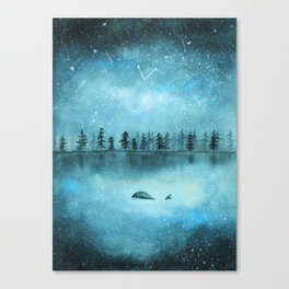 Stars don't judge Canvas Print