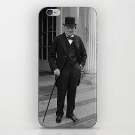 Winston Churchill iPhone Skin