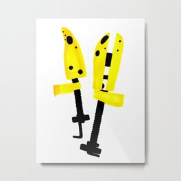 Day 3 - Shoe Trees Metal Print