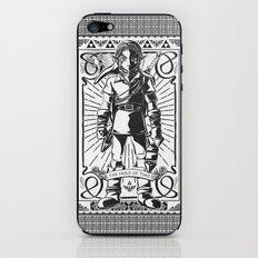 Legend of Zelda - Epic Link Vintage Geek Line Artly iPhone & iPod Skin