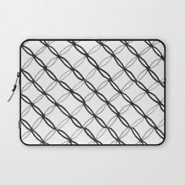 Leafy Grate Pattern Laptop Sleeve