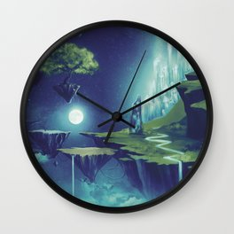 Creativity Island Wall Clock