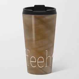 Coffeeholic Travel Mug