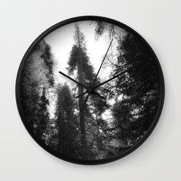 Tahoe Fading Wall Clock