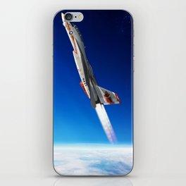 Vertical Burn iPhone Skin