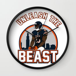 """The Victrs """"Unleash The Beast"""" Wall Clock"""