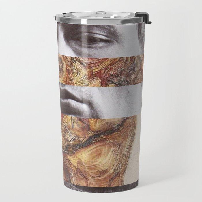 Egon Schiele's Self Portrait with Bare Shoulder & James D. Travel Mug