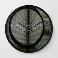 health Wall Clocks featuring Good Health by Veronica Ventress