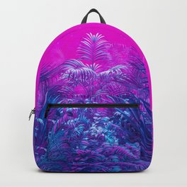 Neon Jungle Paradise Backpack