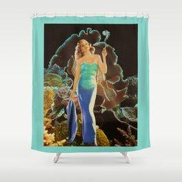 - D E E P   W O R T H - Shower Curtain