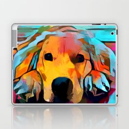 Golden Retriever 4 Laptop & iPad Skin