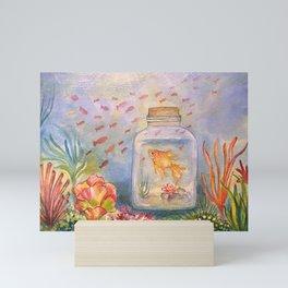Reflection of Freedom Mini Art Print