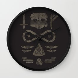 Fast Food Occult Wall Clock