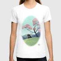asian T-shirts featuring Asian bear by David Pavon