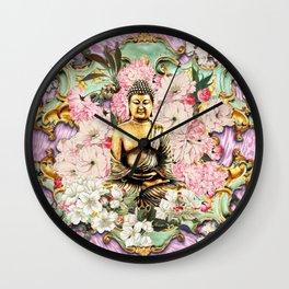 Tranquil Buddha Wall Clock
