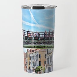 Ponte dell' Accademia Bridge In Venice, Italy Travel Mug