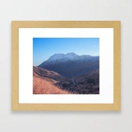 Fall in Alaska Photography Print Framed Art Print