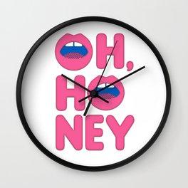 Oh, Honey Wall Clock
