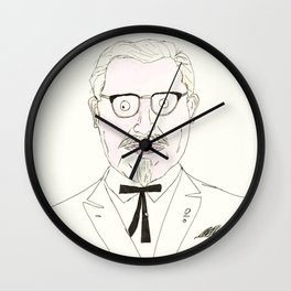 The Colonel Wall Clock