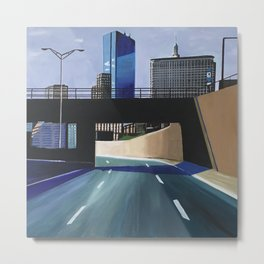 Westbound, Boston Mass. Metal Print