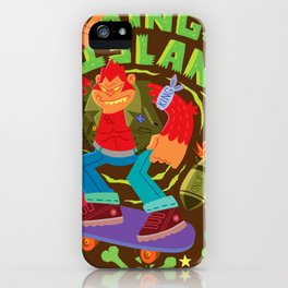 King of the Island iPhone Case