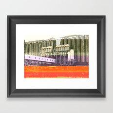 Halifax   Project L0̷SS   Framed Art Print