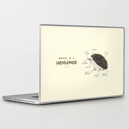 Anatomy of a Hedgehog Laptop & iPad Skin