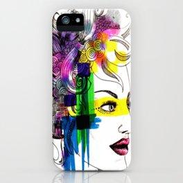 splatter in my face iPhone Case