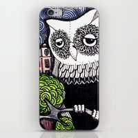 lonely iPhone & iPod Skins featuring lonely by Burcak Kafadar