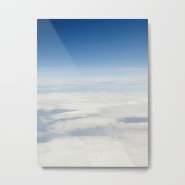 view from air. clouds Metal Print