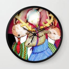 Fools' King Wall Clock