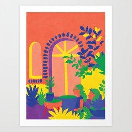 Palo Alto Art Print