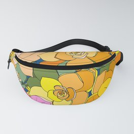 Succulent Frenzy Fanny Pack