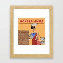 Wonder-amma Framed Art Print