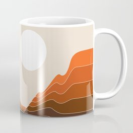 Desert Dusk Ravine Coffee Mug