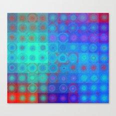 Royal Blue Mood Canvas Print